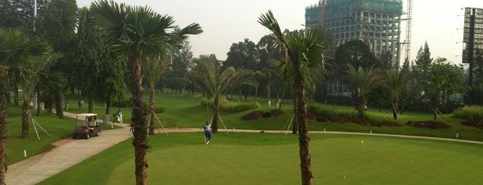 Senayan Golf Course is one of Lieux qui ont plu à Fadlul.