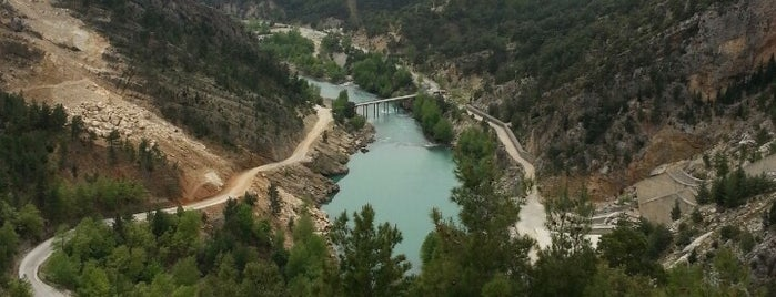 Oymapınar Barajı is one of Antalya genel gezilir.
