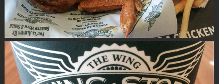 Wingstop is one of Runes's Liked Places.