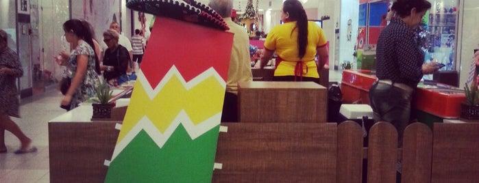 Los Mexicanos - Porto Velho Shopping is one of Tempat yang Disukai Bruno.
