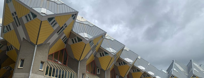 Cube Houses is one of Holland.