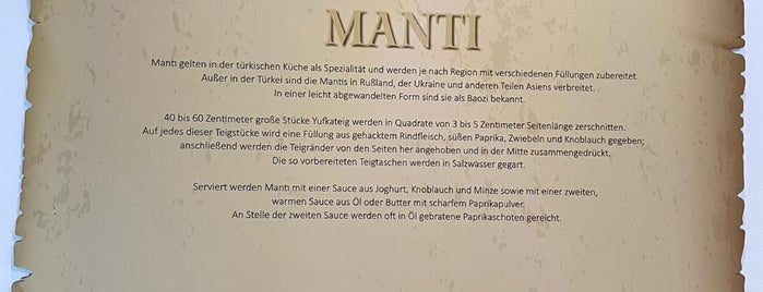 World of Mantı is one of Germany.