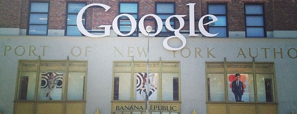 Google New York is one of Orte, die Andrew gefallen.