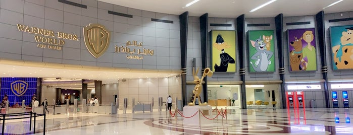 Warner Bros. Plaza is one of Abu Dhabi.