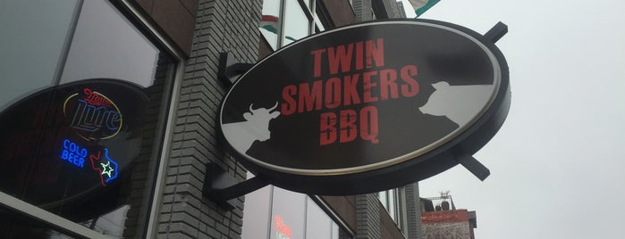 Twin Smokers BBQ is one of Atlanta.
