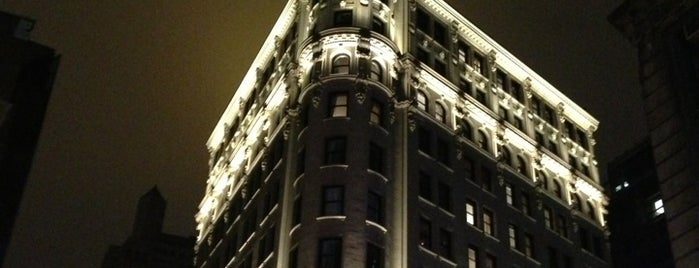 The NoMad Hotel is one of JFK.