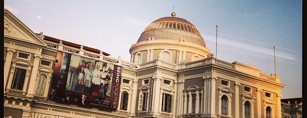 National Museum of Singapore is one of Sing-a-pore.