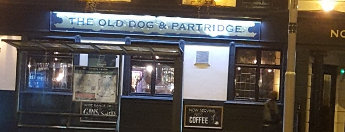 The Old Dog And Partridge is one of Lieux qui ont plu à Carl.