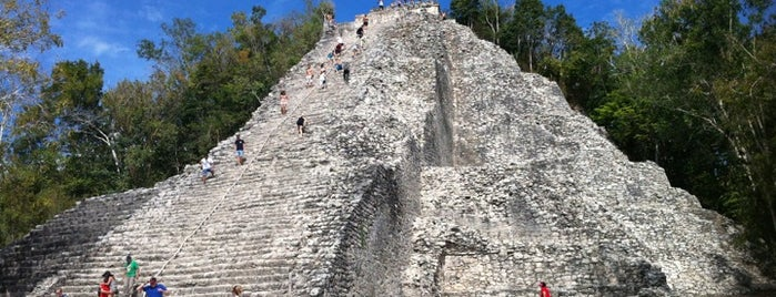 Zona Arqueológica de Cobá is one of Cancun.