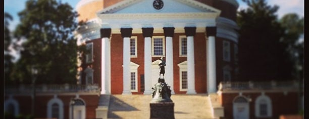 The Rotunda is one of Charlottesville Glory!.