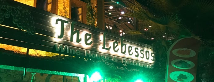 The Lebessos Wine House is one of Orte, die Irm gefallen.