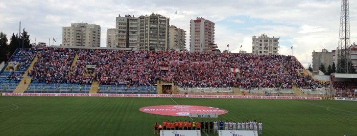 Adana 5 Ocak Fatih Terim Stadyumu is one of Gespeicherte Orte von Erman.