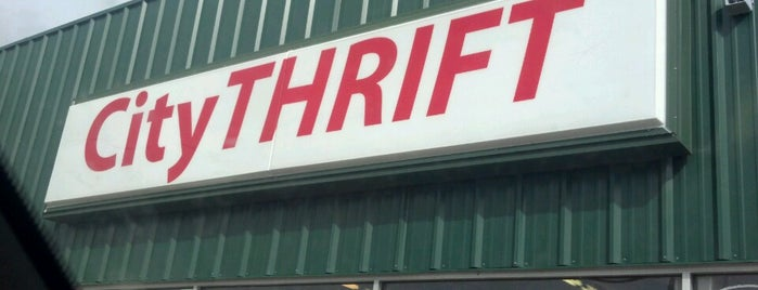 City Thrift is one of สถานที่ที่ Skai ถูกใจ.