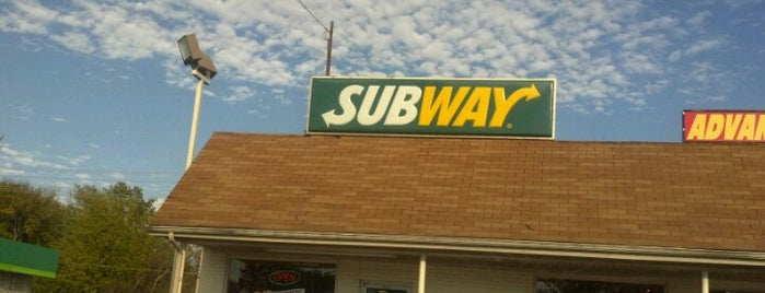 Subway is one of Kentucky.