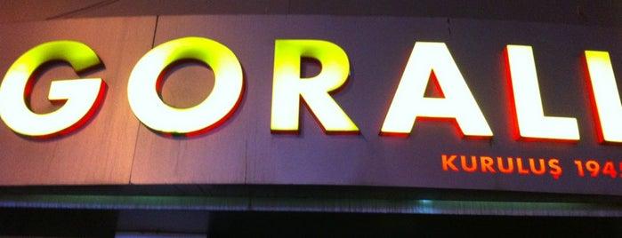Goralı is one of İstanbul gidilecek mekanlar.