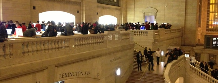 Apple Grand Central is one of NYC.