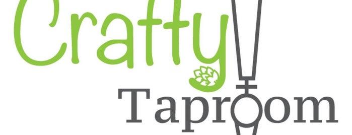 Crafty Taproom is one of Lugares favoritos de Carl.