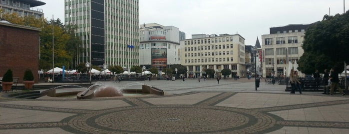 Kennedyplatz is one of Best of Essen.