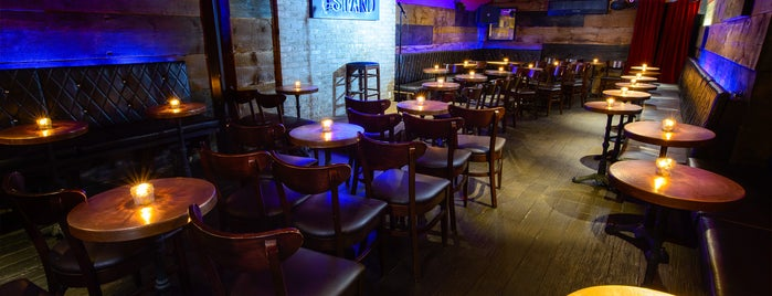 The Stand Restaurant & Comedy Club is one of Best 200 Spots to Eat in Manhattan.