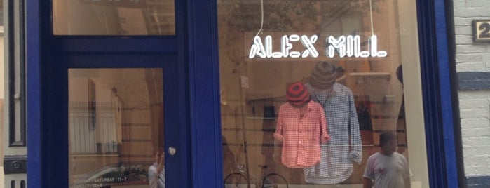 Alex Mill is one of Shop.