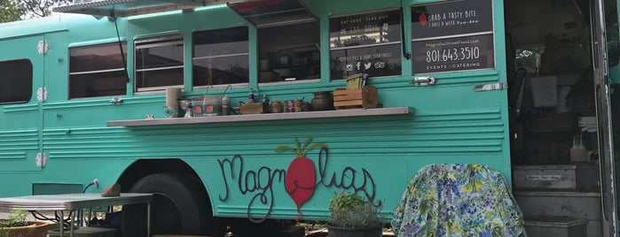 Magnolia café is one of Kim : понравившиеся места.