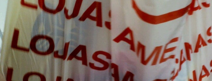 Lojas Americanas is one of Locais curtidos por Larissa.