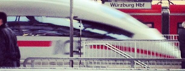 Würzburg Hauptbahnhof is one of Lieblingsorte: Würzburg, Deutschland.