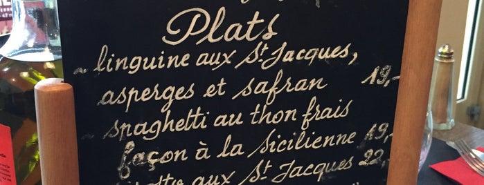 Dulcinéa is one of Paris food.