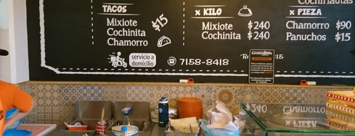 CochinitaMix is one of CDMX.
