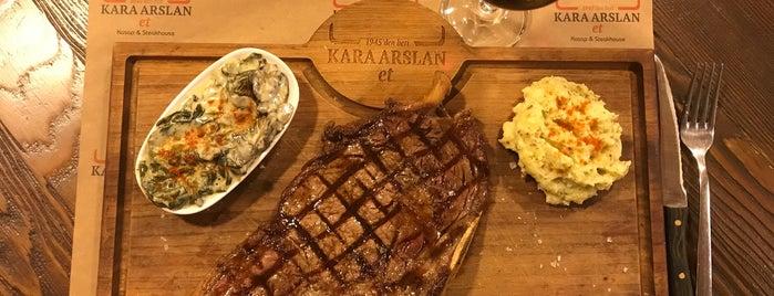karaarslan steak house is one of Yalıkavak.
