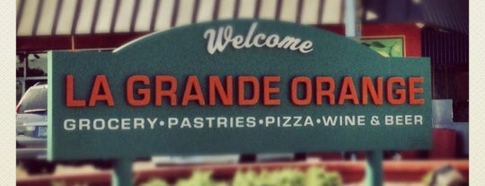 La Grande Orange Grocery & Pizzeria is one of Food & Drink.