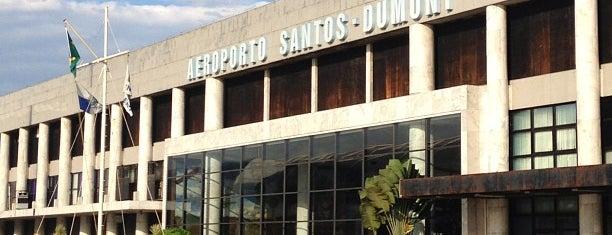Flughafen Rio de Janeiro / Santos Dumont (SDU) is one of สนามบินนานาชาติ (1).