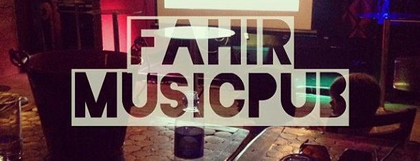 Fahir MusicPub is one of Locais salvos de Patrick.
