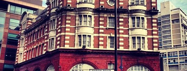 Elephant & Castle London Underground Station is one of London ••Spottet••.