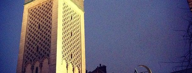 Grande Mosquée de Paris is one of Paris.