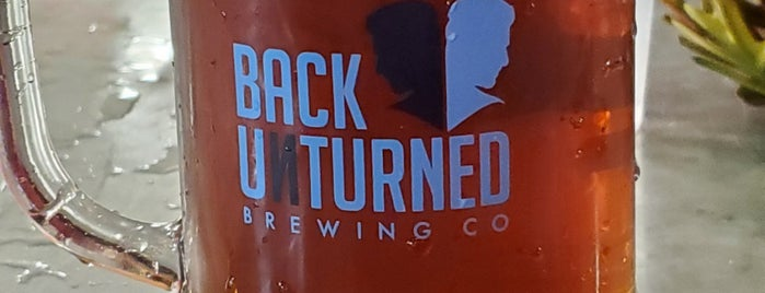 Back Unturned Brewing Company is one of สถานที่ที่ Ron ถูกใจ.