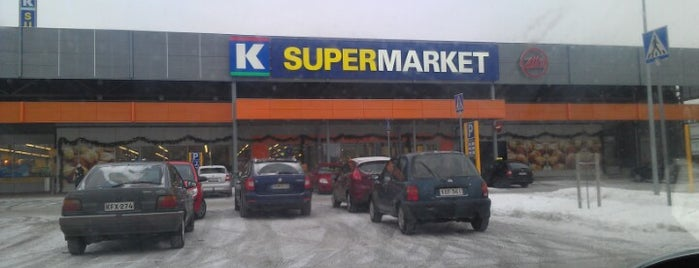 K-Supermarket Hämeenkylä is one of Local.