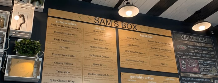 SAM'S BOX CAFE is one of Abu Dhabi.