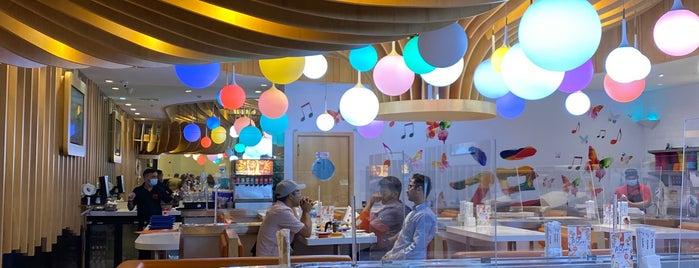 YO! Sushi is one of Lugares favoritos de Selim.
