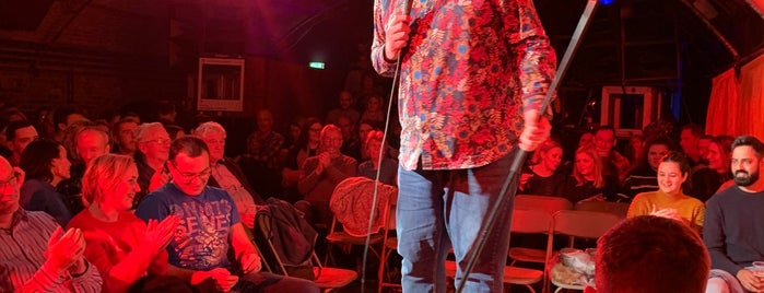 Covent Garden Comedy Club is one of London.