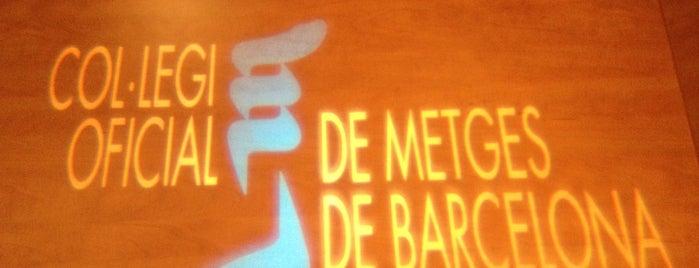 Col·legi Oficial de Metges de Barcelona is one of Frederic 님이 좋아한 장소.