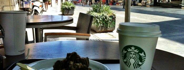 Starbucks is one of Crete.