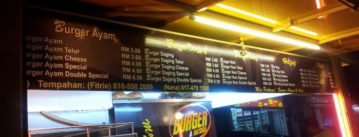 Abang & Adik Burger is one of Penang.
