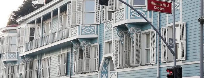 Muallim Naci Caddesi is one of Istanbul.