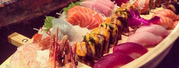 Mizu Sushi Bar & Grill is one of Japanese.