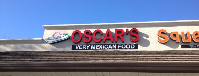 Oscar's Very Mexican Food is one of Mexican Food Excelente.