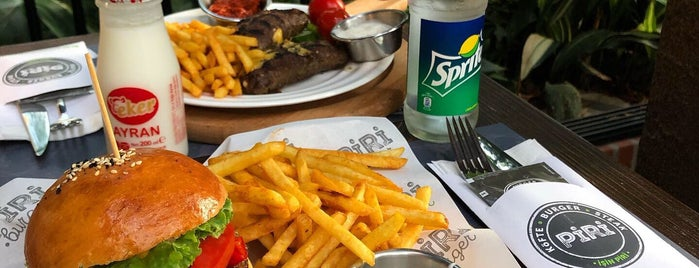 Piri Köfte & Burger is one of Gidip Denemeli.