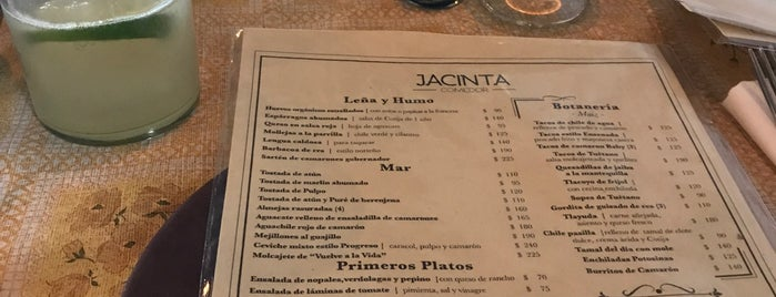 Comedor Jacinta is one of CDMX.