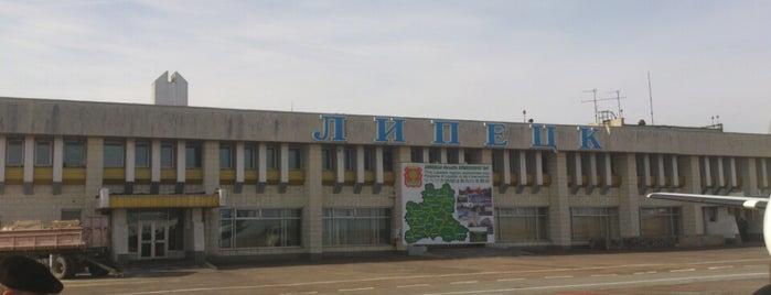 Аэропорт Липецк (LPK) is one of Уля: сохраненные места.