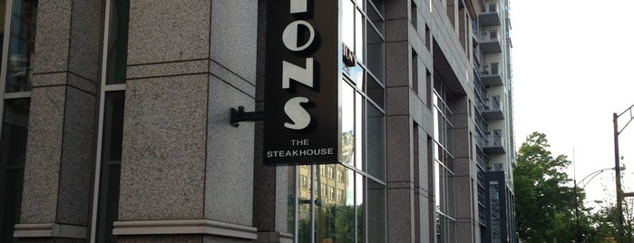 Morton's The Steakhouse is one of Uptown Charlotte Dining and Nightlife.
